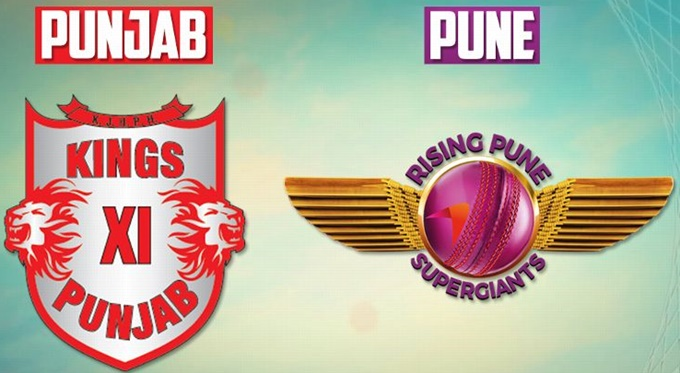 Kings XI Punjab vs Rising Pune Supergiants