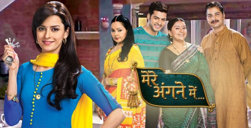 Nimmi gets tensed being in mandap! Mere Angne Mein 12th April 2016 Episode Written Updates