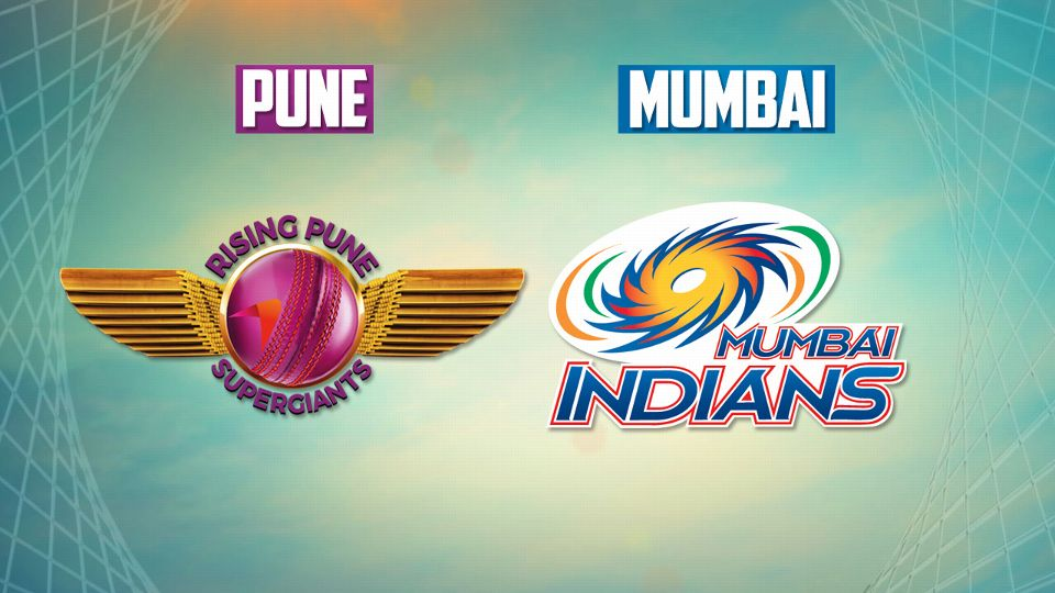 Mumbai Indian vs Rising Pune Supergiants