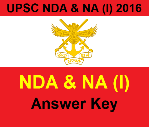 UPSC NDA & NA (I) Answer Key 2016