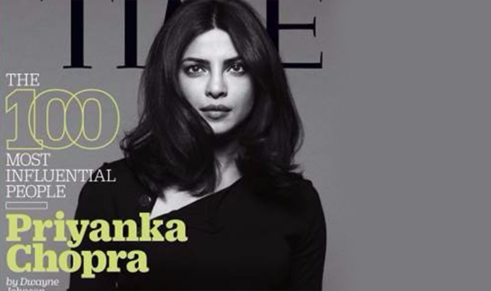 Priyanka Chopra Amp 9 Other Indian Selected For Time Magazines In The List Of Influential People