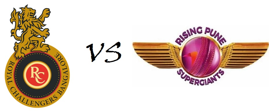 RPS Vs RCB Match 16th Live Score Vivo Ipl 9 Scoreboard 2016 Result Highlights Ball by Ball