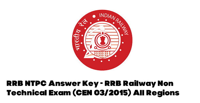 RRB NTPC Answer Key 2016 of 16th April Railway Exam Expected Cut Off