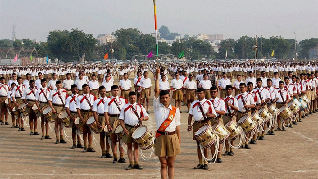 RSS Leader Says: Vande Mataram is India's real national anthem, not Jana Gana Mana