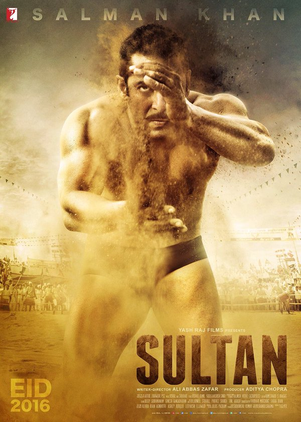 Sultan Movie First Poster Look Salman Khan 2016