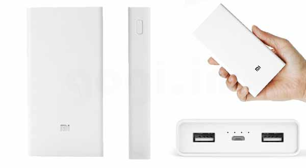 Xiaomi launch 20000mAh power bank at INR 1,699