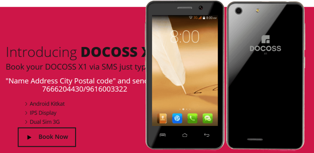 docoss x1 smartphone buy now