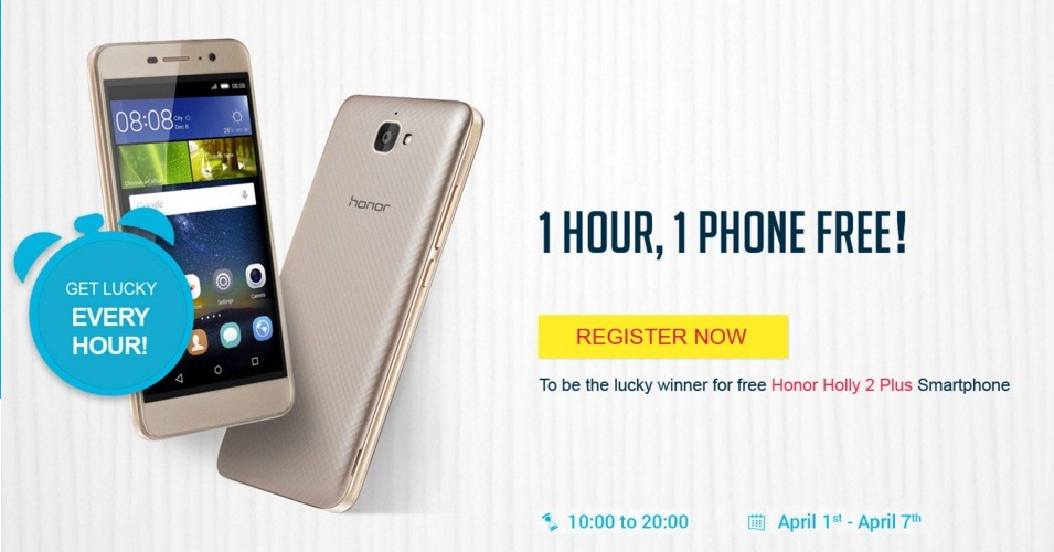 Discounts! Honor Series Smart Phones Sale Offer Till 10th April