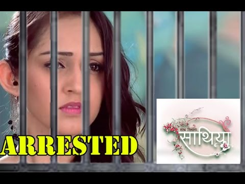 Meera is arrested by Police! Saath Nibhana Saathiya 9th April 2016 Episode Written Update