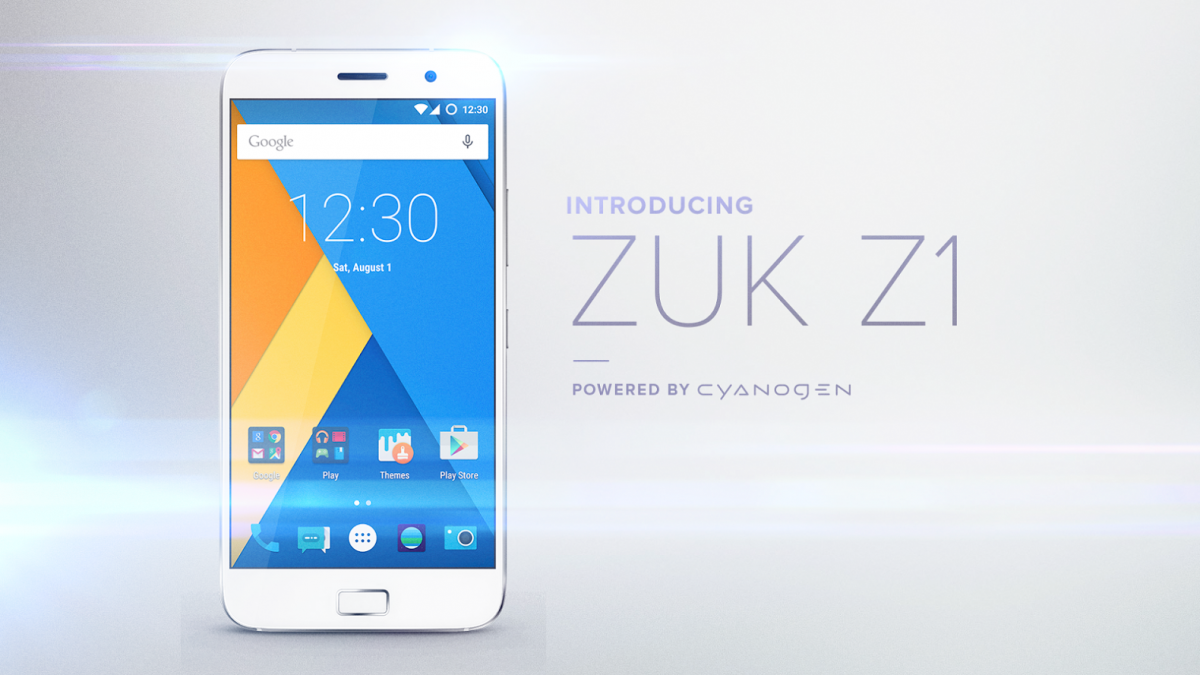 lenovo zuk z1 smartphone features specification