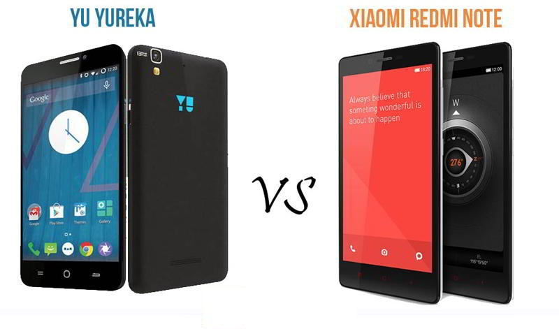 Xiaomi Redmi Note 3 VS Yu Yureka Note Compare Both Price Specification