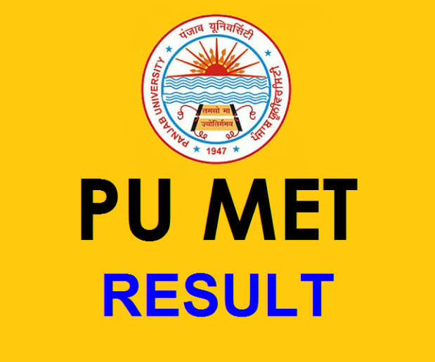 Punjab University declared the MET 2016 Result | Check PU MBA Merit List