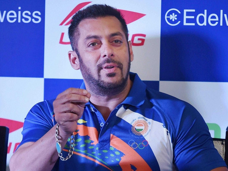 Salman Khan named as Indian contingent's Goodwill Ambassador for Rio Olympics 2016