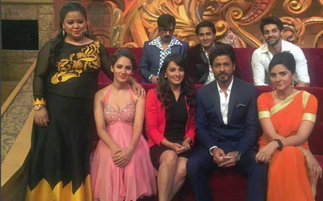 Comedy Nights Bachao 9th April 2016! Shah Rukh Khan Promotes Fan