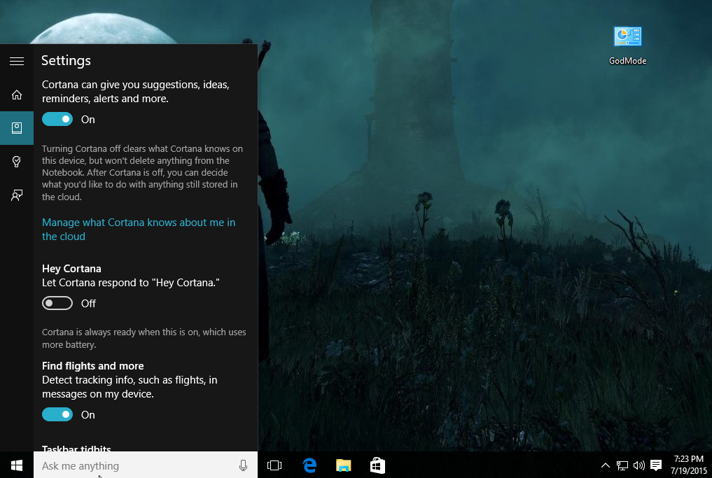 Cortana Now Can't Search Google on Windows 10 will now only