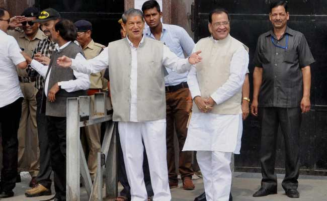 Harish Rawat won Floor Test Voting