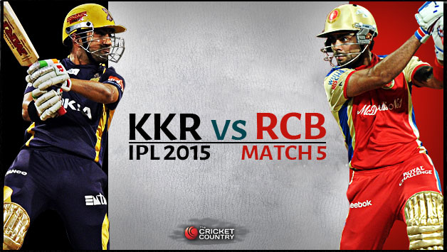 Vivo IPL 9 RCB Vs KKR 30th Match Live Score Scorecard Results Highlights 2nd May 2016