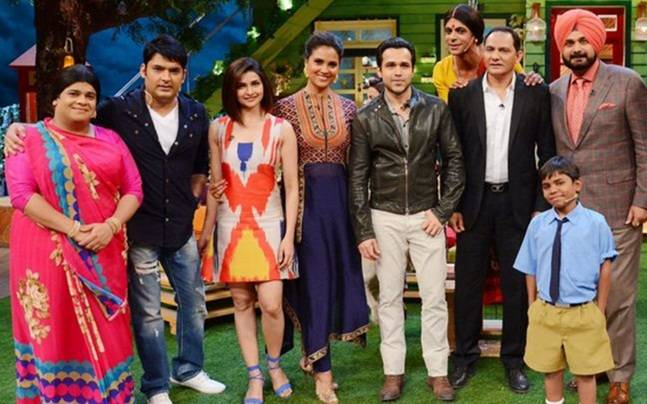 "The Kapil Sharma Show! TKSS 7th May 2016 Episode Emraan Hashmi Promotes ""Azhar"""