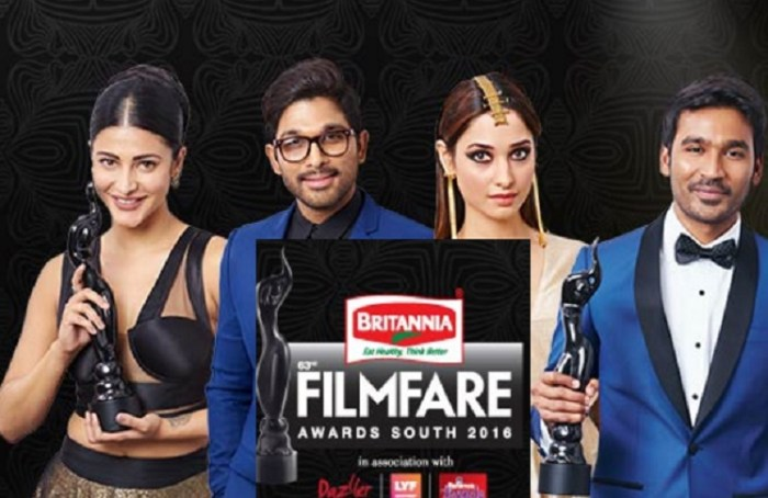 63rd Filmfare Awards 2016  Winners List