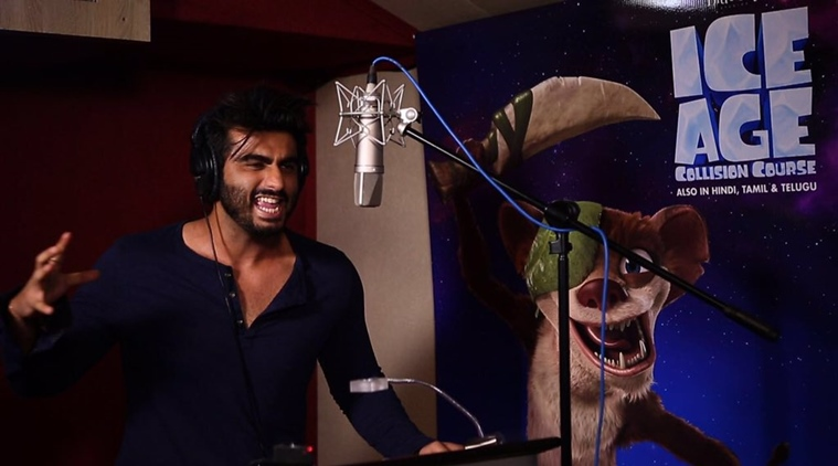 Arjun Kapoor to make his voiceover debut with Hindi version of Ice Age Collision Course