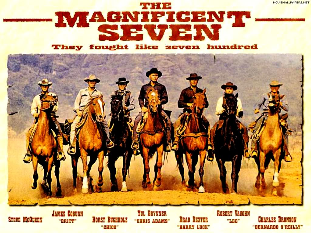 Check out! First look Poster The Magnificent Seven 2016 Upcoming Action Film