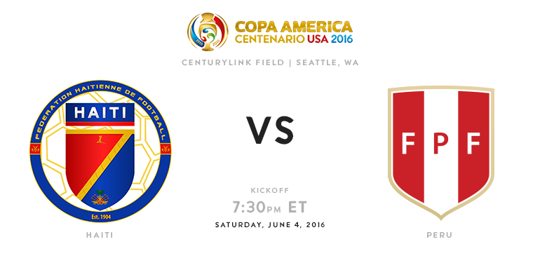 Copa America 2016 Group B Peru Vs Haiti Match