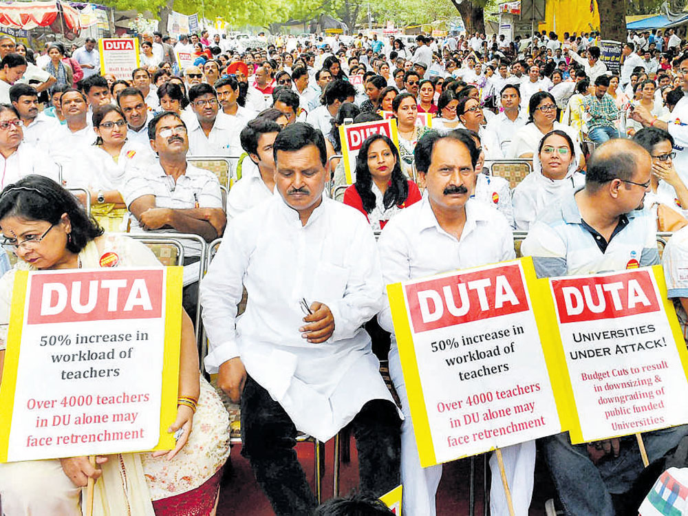 DUTA to boycott DU admission process