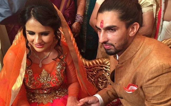 Indian Cricketer Ishant Sharma Gets Engaged To Basketball Player Pratima Singh Wife Pics