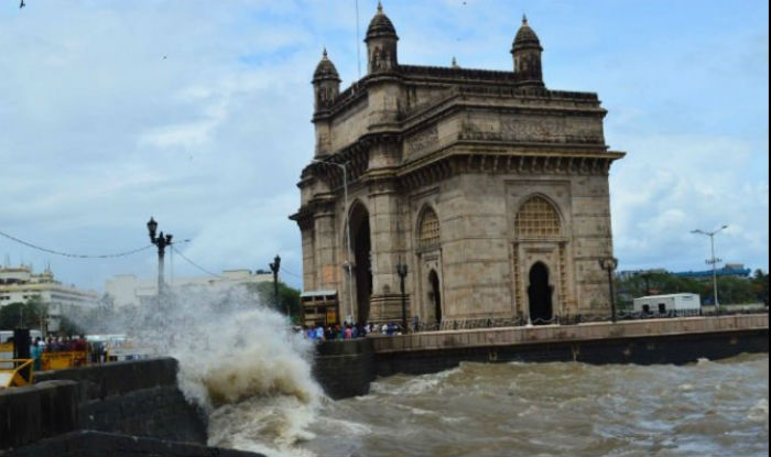 Mumbai rains High tide measuring 4.24 meters hits