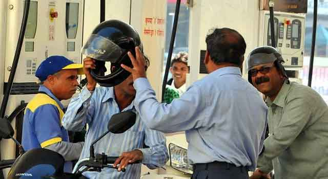 NO HELMET - NO PETROL RULE SOON IN TWIN CITIES