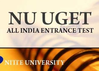 Nitte University NUUGET 2016 Results To Be Out on 11th June