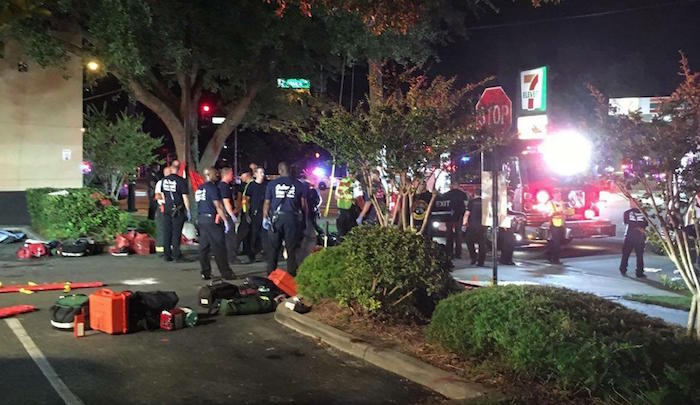 Officials repot,At Least 50 Dead in Orlando Gay Club Shooting, Suspect Pledged Allegiance to ISIS