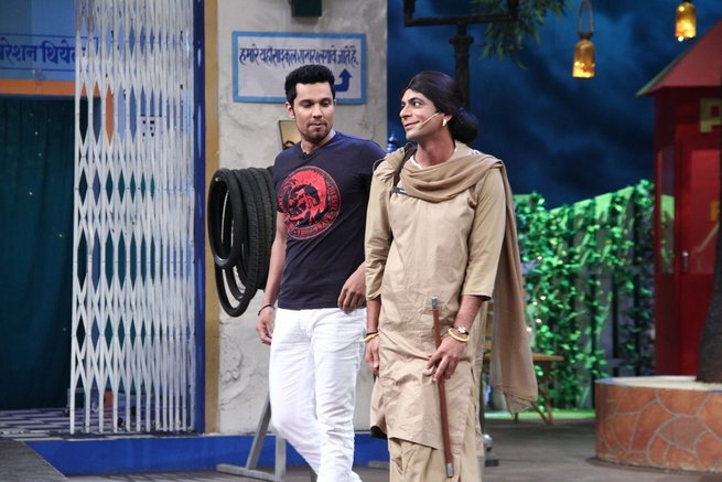 Randeep hooda promote the kapil sharma show