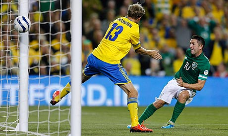 Republic of Ireland v Sweden - 2014 World Cup Qualifying European Zone - Group C