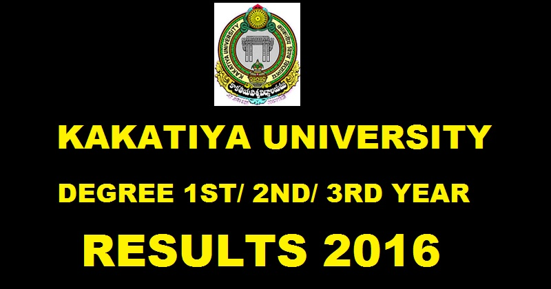 Kakatiya University first year B.A, B.Com, B.Sc, BCA