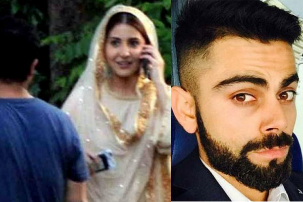 Virat Kohli Anushka Sharma love birds