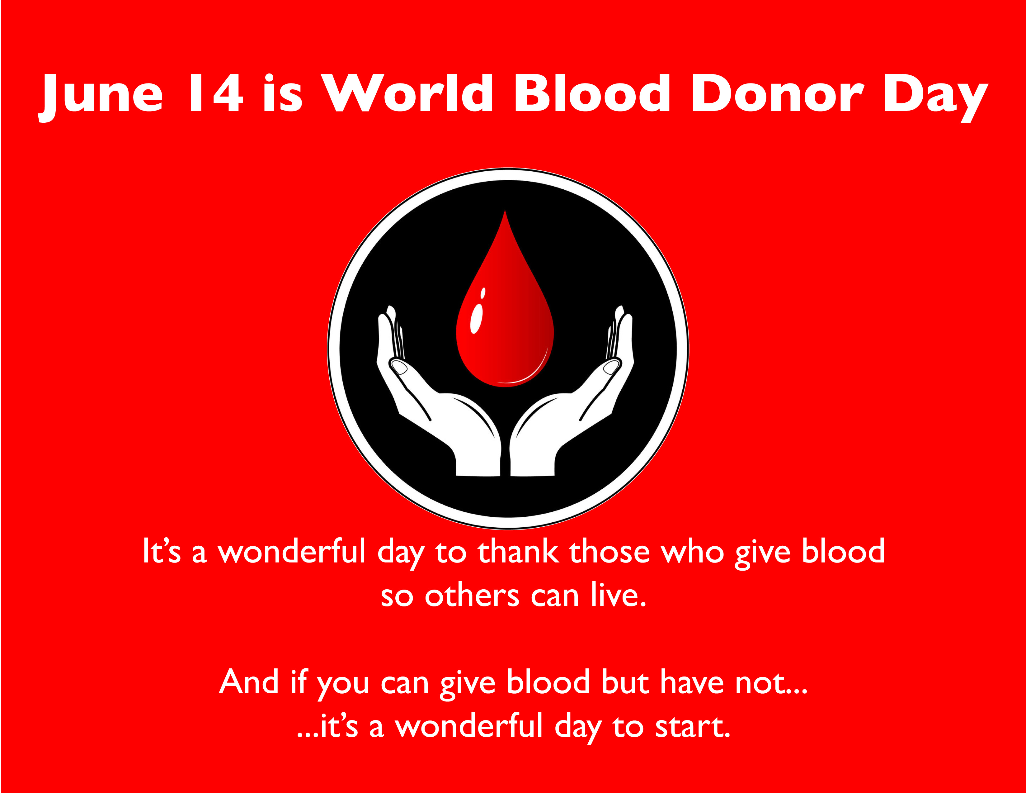 World Blood Donor Day whatsapp dp