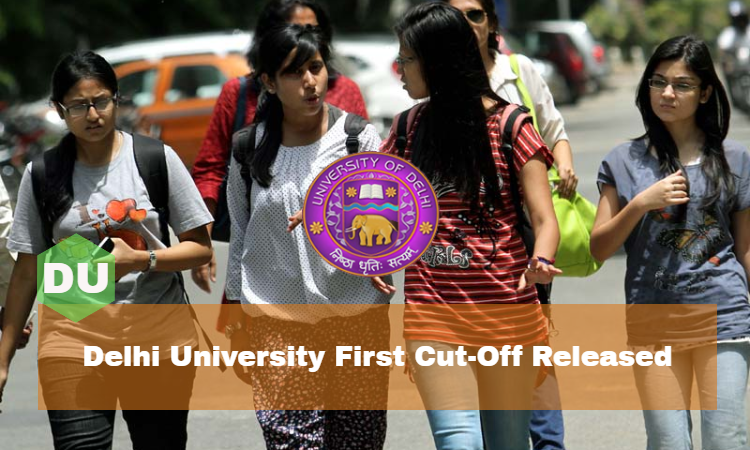 delhi university 2016 first cut off