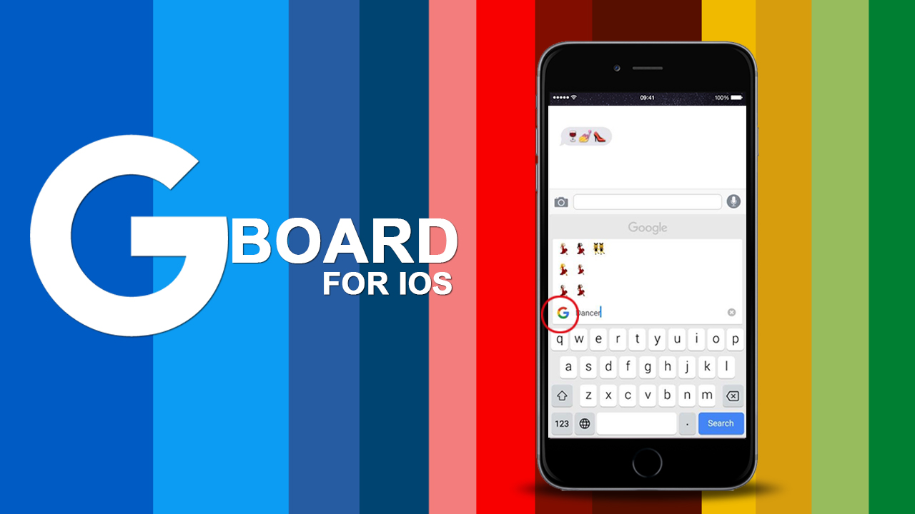 google launched the new Gboard for the ios APPLE