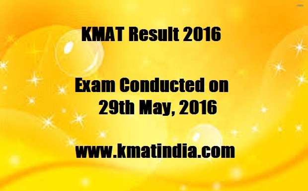 kmat exam results 2016