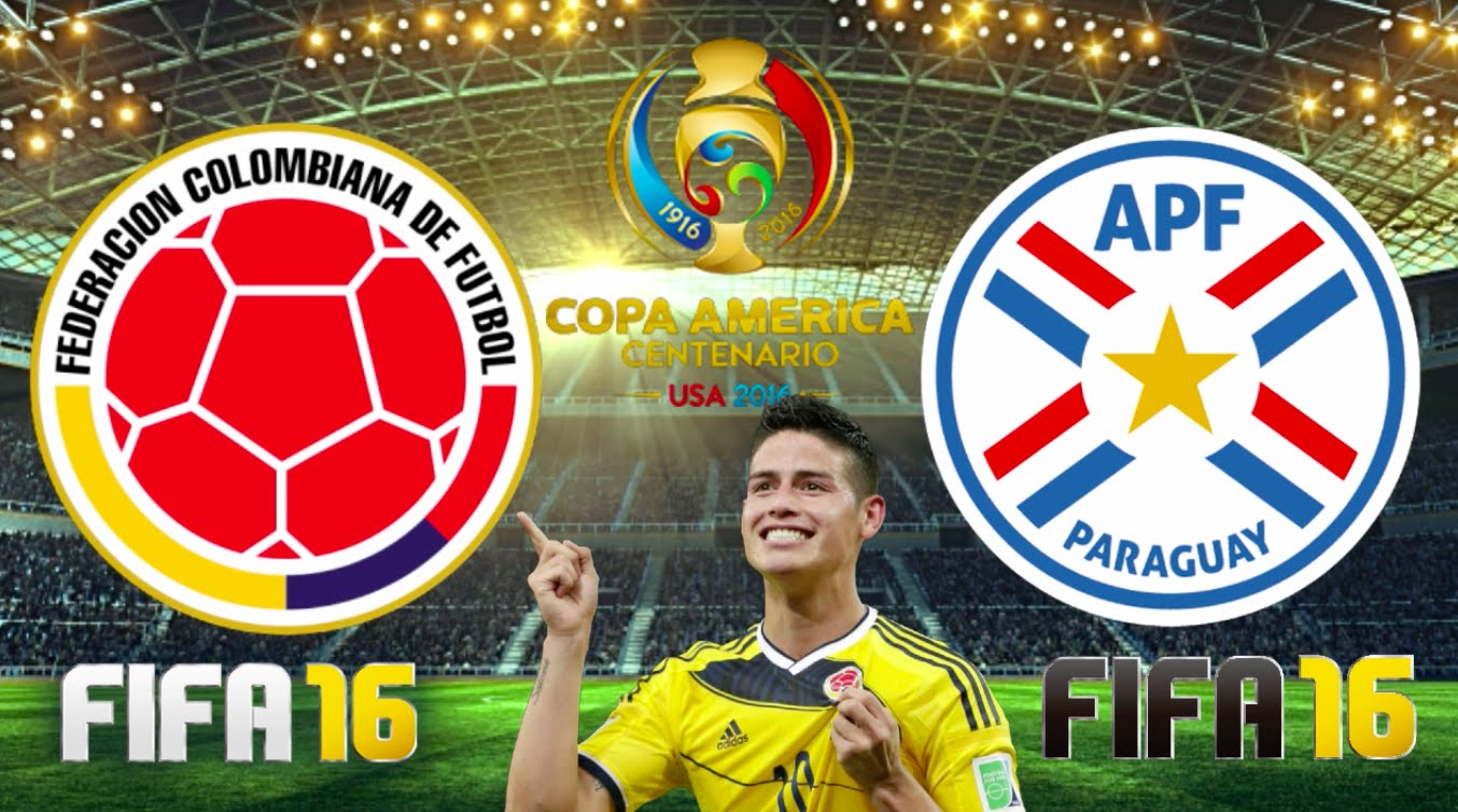 copa america 2016 colombia vs paraguay preview