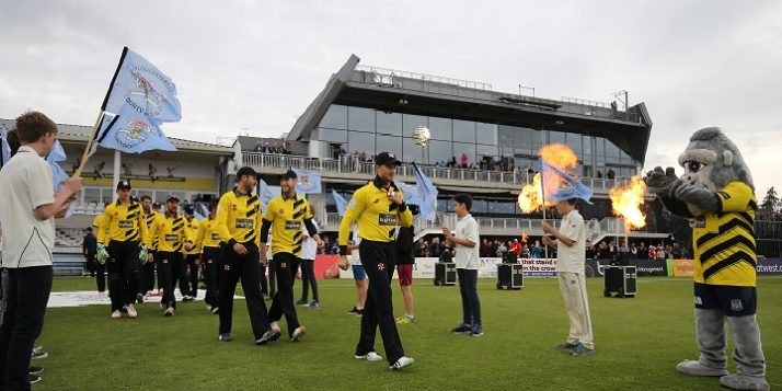Gloucestershire v Sussex Natwest T20 Blast from The Brightside Ground, Bristol 20-5-16 Pic by Martin Bennett