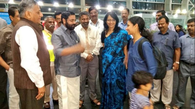 154 Indians evacuated from South Sudan return home