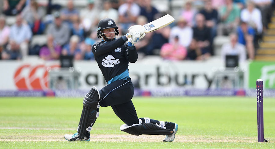 WORCESTER, ENGLAND - JUNE 18:  Alexei Kervezee of Worcestershire bats during the NatWest T20 Blast match between Worcestershire and Nottinghamshire at New Road on June 18, 2016 in Worcester, England.  (Photo by Gareth Copley/Getty Images)