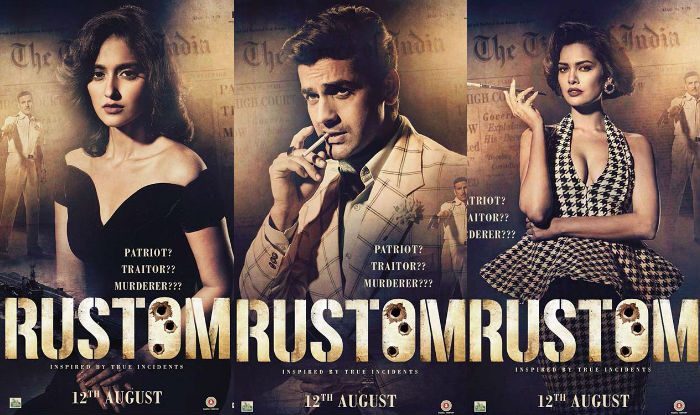 Akshay Kumar introduces fans to three Rustom characters