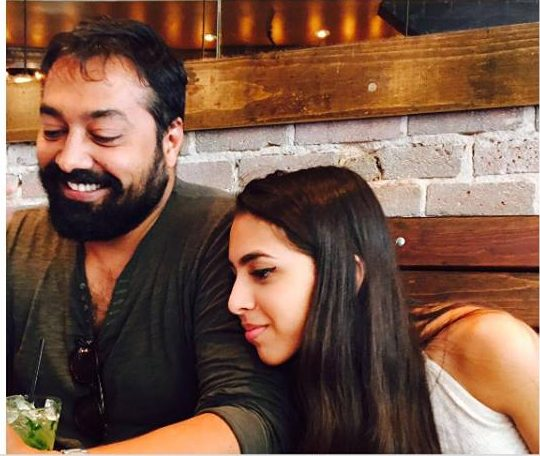 Anurag Kashyap lands a kiss on his 'rumoured' girlfriend's cheek, picture goes viral2