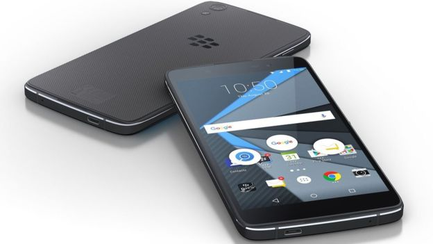Blackberry unveils second Android-powered handset DTEK 50