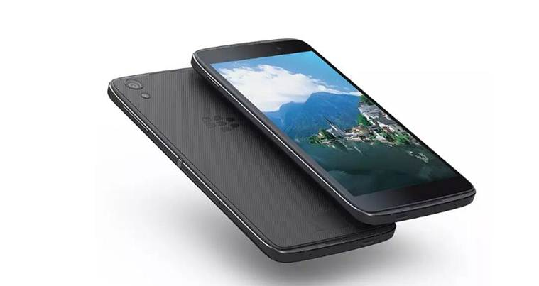 Blackberry unveils second Android-powered handset DTEK 50.1