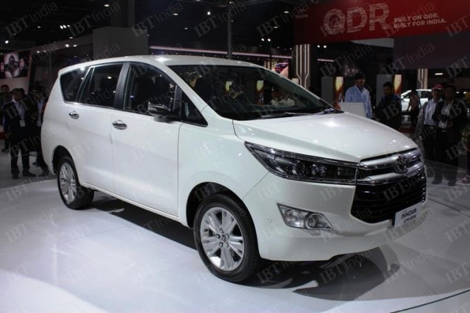 Bookings for petrol Toyota Innova Crysta open