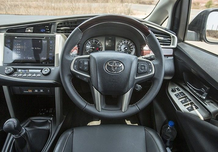 Bookings for petrol Toyota Innova Crysta open4
